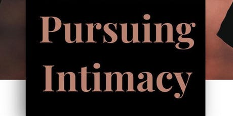 Pursuing Intimacy with God tickets
