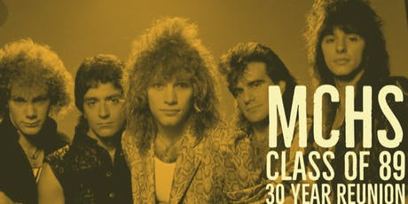 MCHS Class of 1989 - 30 Year Reunion tickets