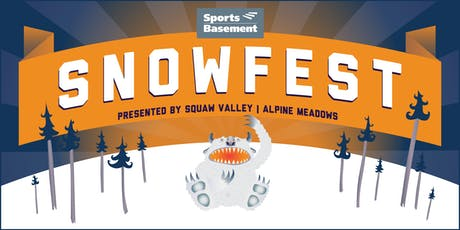 Sports Basement Santa Rosa's SnowFest tickets