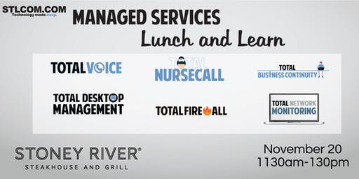 Managed Services Lunch and Learn