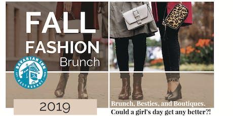 Fall Fashion Brunch tickets