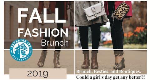 Fall Fashion Brunch