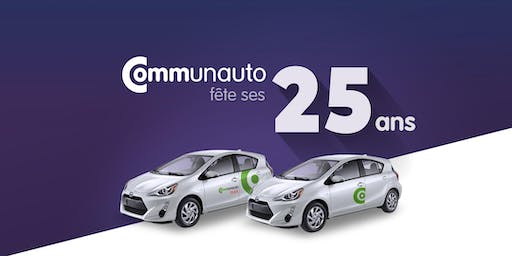 Cocktail 25 ans Communauto