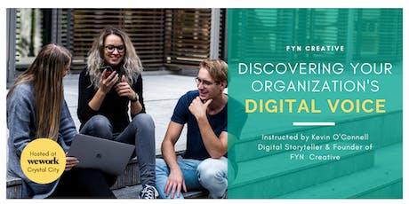 Digital Marketing: Discover Your Organization's Digital Voice Washington DC tickets