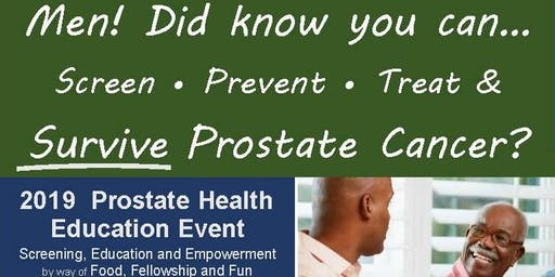 2019 Prostate Health Education Event