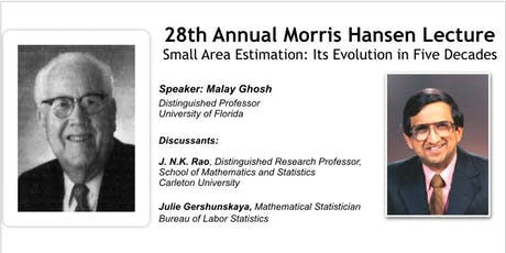 The 28th Annual Morris Hansen Lecture tickets