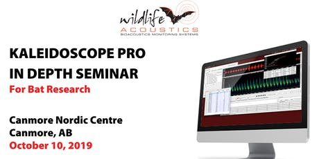 Kaleidoscope Pro for Bat Research, Canmore: Oct 10 tickets