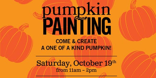 Lakeside Garden Gallery Pumpkin Painting 2019