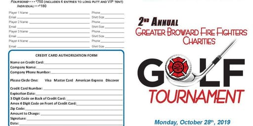 Golf Tournament - 2nd Annual
