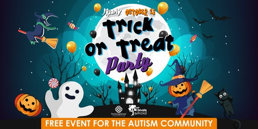 Dallas Trick or Treat Party!