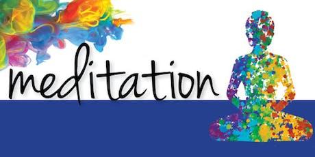 Introduction to Meditation: Week Nine of Twelve tickets