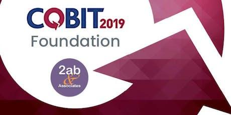 COBIT 2019 Foundation - Formation accréditée par ISACA tickets