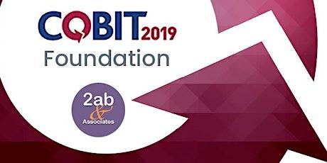 COBIT 2019 Foundation - Formation accréditée par ISACA billets