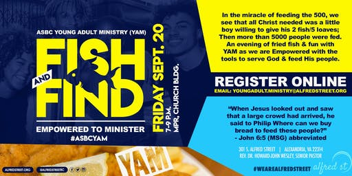 Young Adult Ministry- Fish and Find: Empowered to Minister