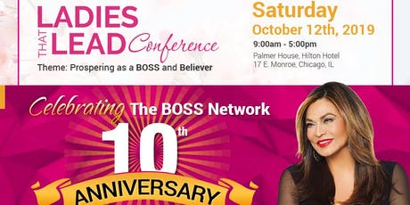 BOSS Ladies That Lead Conference & All Black Awards Gala Feat. Tina Knowles tickets