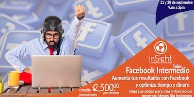 Taller Facebook Intermedio