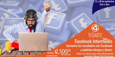 Taller Facebook Intermedio boletos