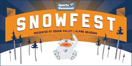 Sports Basement Berkeley's SnowFest tickets