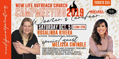 New Life Outreach Campmeeting 2019- Bella Women's Luncheon