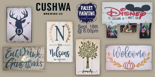 Pallet Paint Night @ Cushwa Brewing Company