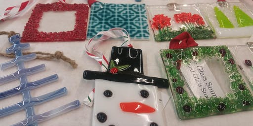 Fused Glass Ornament Workshop