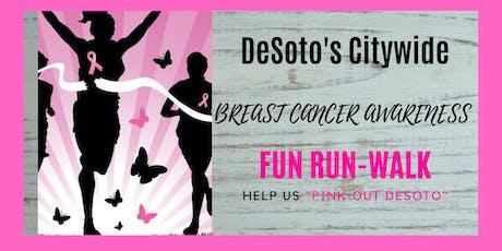 DeSoto's Citywide Breast Cancer Walk tickets