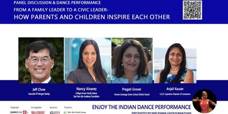Civic Leadership Forum : From a family leader to a civic leader - How parents and children inspire each other tickets