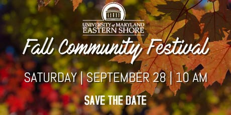 UMES Fall Community Festival   tickets
