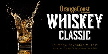 Orange Coast Whiskey Classic 2019 tickets