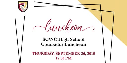 SC/NC High School Counselor Luncheon
