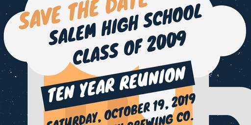 VB Salem High School Class of 2009 10-Year Reunion