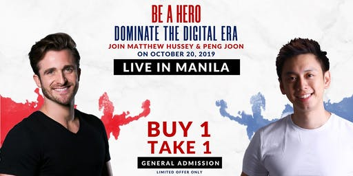 National Achievers Congress 2019 (Matthew Hussey Live in Manila!) General Admission