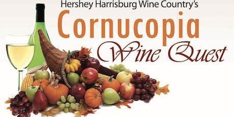 Hershey Harrisburg Wine Country's Cornucopia Wine Quest 2019 tickets