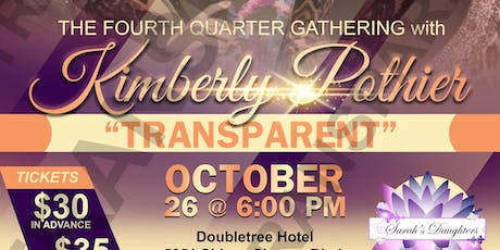Fourth Quarter Gathering with Pastor Kimberly Pothier tickets