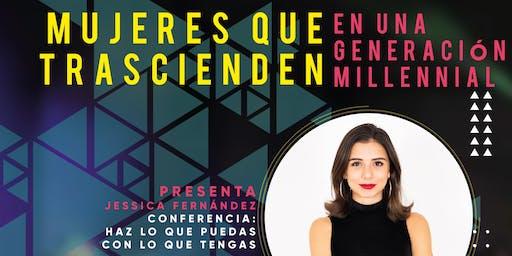 Conferencia: Mujeres que trascienden en una generación millennial.