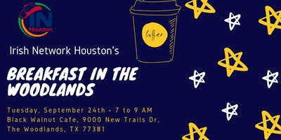 IN Houston September Breakfast Mixer (WOODLANDS)
