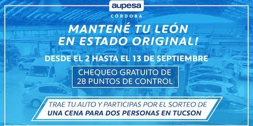 Chequeo Gratuito de 28 puntos de Control - Aupesa Córdoba