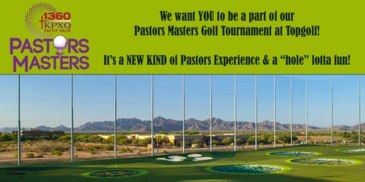 2019 Pastors Masters Golf Tournament at Topgolf