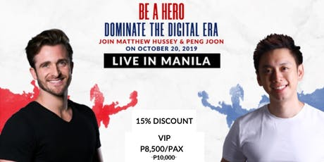 National Achievers Congress 2019 (Matthew Hussey Live in Manila!) - VIP tickets