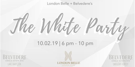 London Belle + Belvedere White Party : Charity for Autism Council of Utah