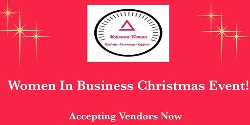 Woman in Business Christmas Event