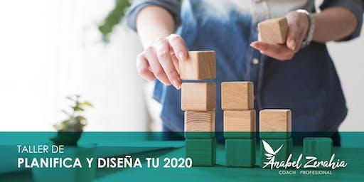 Planifica y diseña TU 2020