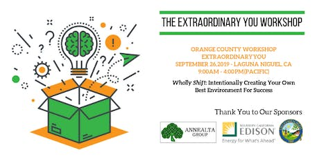 MMASC, NFBPA, LGHN & WLG-CA Registration for Extraordinary YOU Workshop:  Wholly Shift: Intentionally Creating Your Own Best Environment For Success tickets