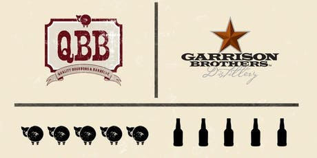 BBQ Dinner with Garrison Brother's @ QBB tickets
