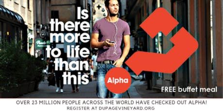 Alpha...Dinner and a Movie tickets