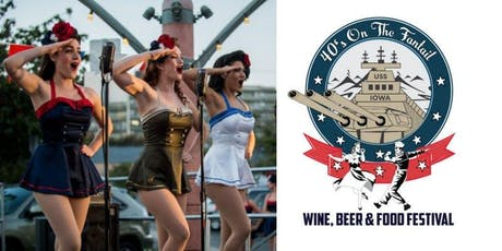 40's On The Fantail – Wine, Beer & Food Festival tickets