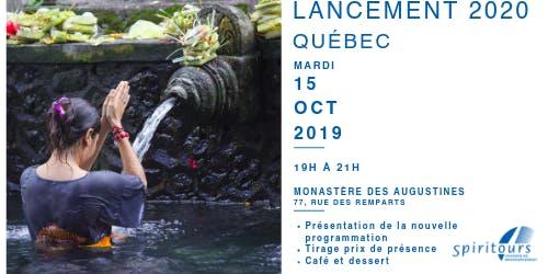 Lancement - Québec