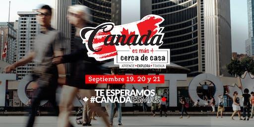 Seminario - Canadá es Más!... Estudia, vive, trabaja y migra a Canadá