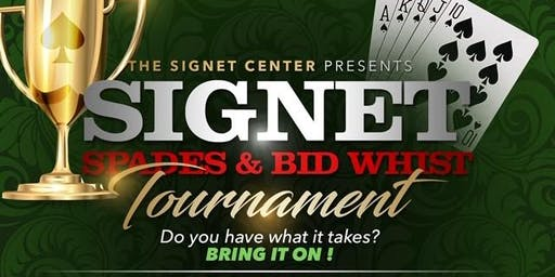 Signet Center Bid Whist & Spades Tournament