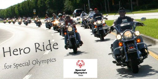 Hero Ride for Special Olympics Texas 2019